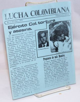 Lucha Colombiana. No. 2 (Nov.-Dec. 1978