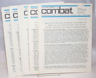 Combat. the newsletter that keeps you informed about the revolutionary struggle in America today...