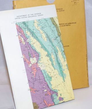 Geologic Map of the Wilbur Springs Quadrangle, Colusa and Lake Counties, California [with two booklets] California Index to topographic and other Map Coverage [and] California Catalog of topographic and other Published Maps, Companion publication to the California Index [etc, as above]