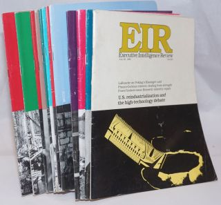 EIR: Executive Intelligence Review (12 issues). Lyndon H. LaRouche Jr