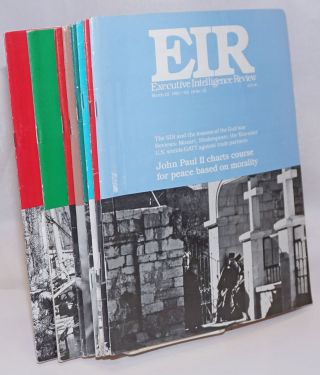 EIR: Executive Intelligence Review (12 issues)
