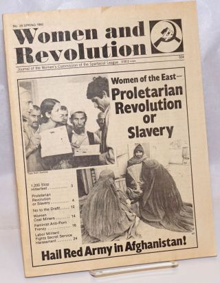 Women and Revolution: Journal of the Women's Commission of the Spartacist League; No. 20, Spring...