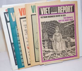 Viet-Report: An Emergency News Bulletin on Southeast Asian Affairs [5 issues]. Carol Brightman