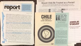 American-Chilean Council Report [ten issues, with additional materials
