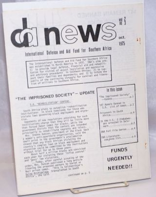 DA News. Vol. 2 no. 3 (Oct. 1975