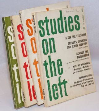 Studies on the left; a journal of research, social theory, and review. Vol. 5, no. 1-4 (1965