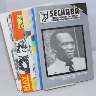 Sechaba: official organ of the African National Congress South Africa [6 issues