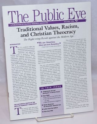 The Public Eye: A Publication of Political Research Associates; December 1992. Jean Hardisty,...