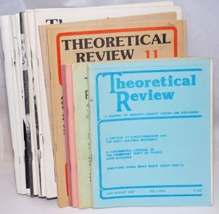 Theoretical review; a journal of Marxist-Leninist theory and discussion. [21 issues]. Tucson...