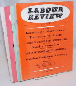 Labour Review [7 issues]. John Robert Shaw Daniels, and