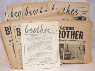 Brother: a male liberation newspaper aka a forum formen against sexism [11 issue broken run