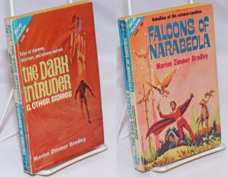 Falcons of Narabedla bound with The Dark Intruder, and Other Stories. Marion Zimmer Bradley