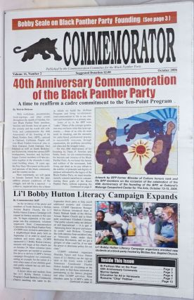 The Commemorator. Vol. 16 no. 2 (October 2006