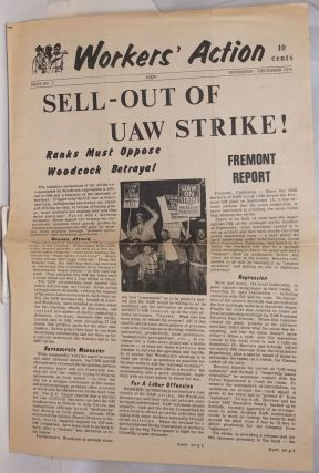 Workers' Action. Issue no. 7 (November-December 1970). Committee for a. Labor Party