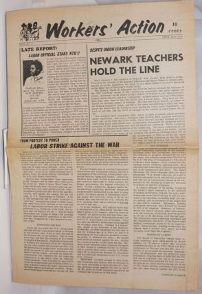 Workers' Action. Issue no. 8 (April-May 1971). Jim Apperson, managing