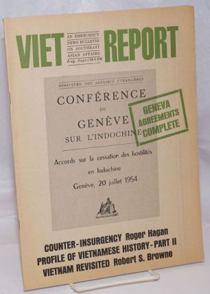 Viet-Report: An Emergency News Bulletin on Southeast Asian Affairs; Vol. 1 No. 2, Aug.-Sept....