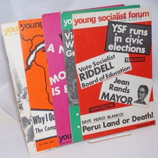 Young socialist forum [5 issues]. Nos. 1, 2, 5 Nos. 4, 6, John Riddell, Gary Porter