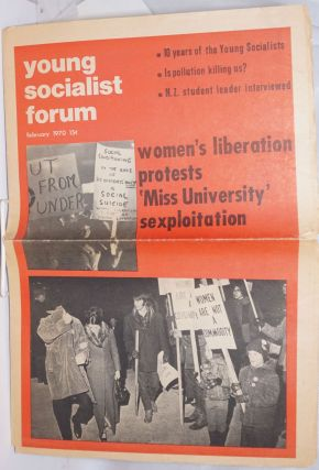Young Socialist Forum: Vol. 7 No. 2 (44), February 1970. Jacquie Henderson