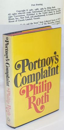 Portnoy's Complaint. Philip Roth, Dorothy Van Nuys ownership signature