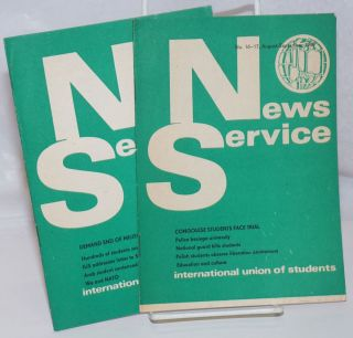 News Service [two issues: 15 and 16/17]. International Union of Students