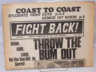 Fight Back! Vol. 1 no. 4 (February 1974). Attica Brigade