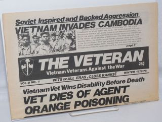 The Veteran. Vol. 9 no. 1 (Winter 1978-79). Vietnam Veterans Against the War