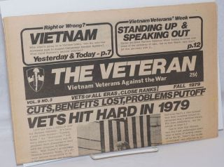 The Veteran. Vol. 9 no. 3 (Fall 1979). Vietnam Veterans Against the War