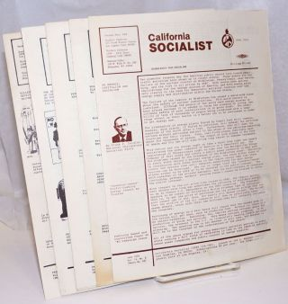 California Socialist [five issues
