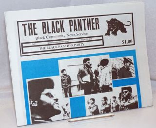 The Black Panther Black Community News Service. Special commemorative issue, August 25, 2018....