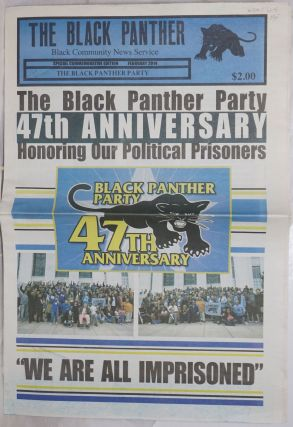 The Black Panther Black Community News Service. Special commemorative edition. February 2014. The...