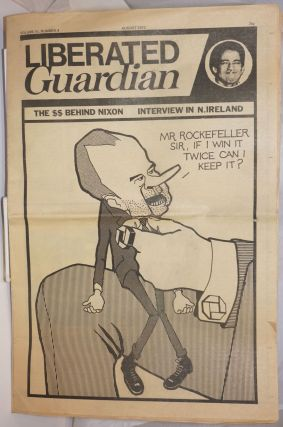 Liberated Guardian, vol. 3 no. 4 (August 1972