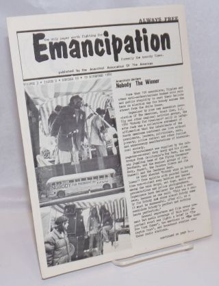 Emancipation: formerly the Anarchy Times; Vol.3, No.9, (No. 19), 19 November 1980