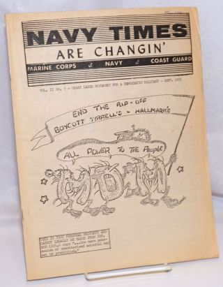 Navy Times Are Changin'; Vol. 2 No. 5, September 1971