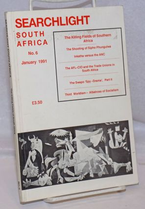 Searchlight South Africa: a Marxist journal of South African studies; no. 6, January 1961