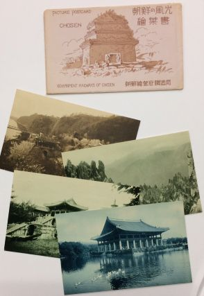 Picture Postcard / Chosen [Set of four postcards from colonial-era Korea, in original envelope