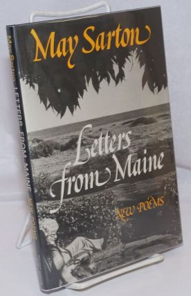 Letters from Maine: new poems. May Sarton