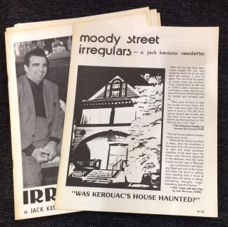 Moody Street Irregulars: A Jack Kerouac Newsletter [three issues