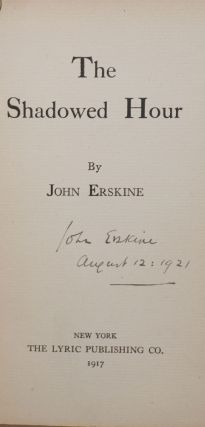 The Shadowed Hour [signed]