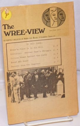 The Wree-View: Bi-Monthly Bulletin of Women for Racial and Economic Equality; Vol. 6, No. 2,...