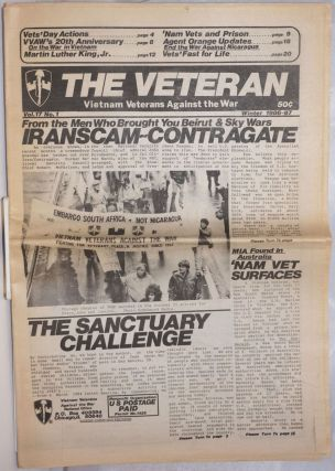 The Veteran: Vol. 17 no. 1 (Winter 1986-87). Vietnam Veterans Against the War