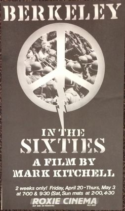 Berkeley in the Sixties: a film by Mark Kitchell [poster