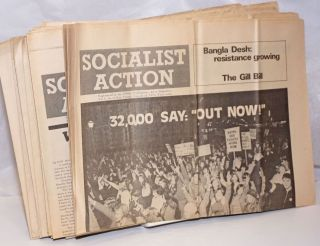 Socialist Action [26 issues]. Hugh Fyston