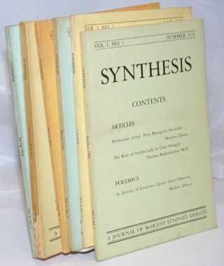 Synthesis: A journal of Marxist-Leninist debate [first six issues]. Marlene Dixon