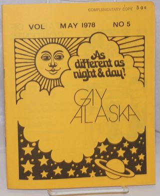 Gay Alaska: vol. 1, #5, May 1978. Eugene Haberman