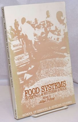 Food Systems in Central & Southern Africa. Johan Pottier