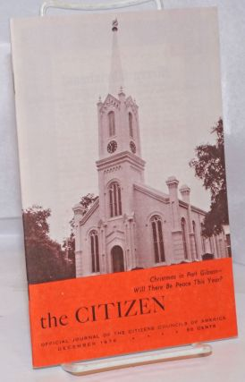 The Citizen: Official Journal of the Citizens Councils of America. December 1976. W. J. Simmons