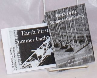 Earth First! Summer Gathering [two brochures for the event in North Yorkshire