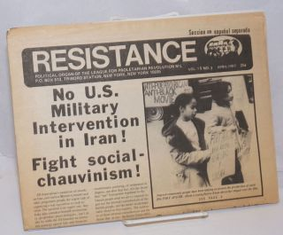 Resistance: Political organ of the League for Proletarian Revolution M-L. Vol. 11 no. 3 (April 1980