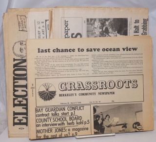 Grassroots: Berkeley's Community Newspaper [9 issues