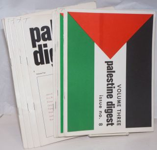 Palestine digest. [11 issues